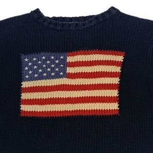 POLO by Ralph Lauren  Iconic American Flag Sweater